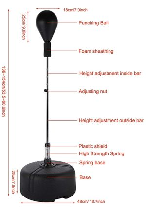 Punching bag speed bag brand new in box for Sale in Scottsdale, AZ