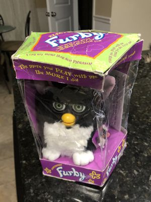 1998 Furby Black and White Electronic Toy collectible for Sale in Fort Mill, SC