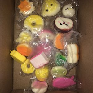20 pcs squishy bundle for Sale in Merced, CA