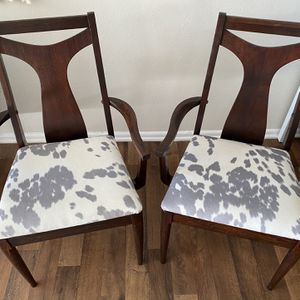 Pair Of Mid century Modern Dining Chairs for Sale in Denver, CO