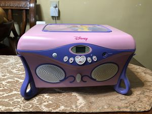 Princess CD player box for Sale in South Gate, CA