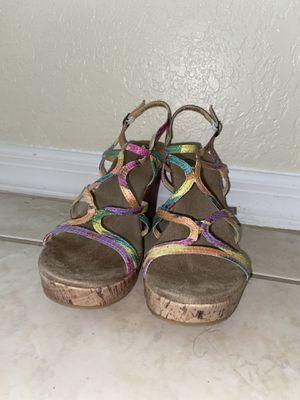 Multi color heel for Sale in PT CHARLOTTE, FL
