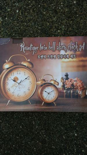Twin alarm clocks for Sale in Bellevue, WA