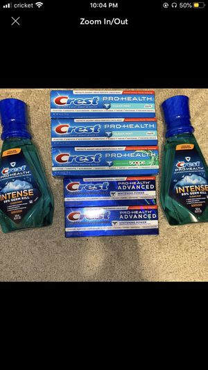 Crest Toothpaste for Sale in Waukegan, IL