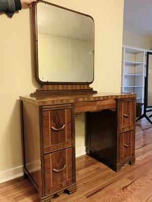 Antique vanity with mirror for Sale in Washington, DC