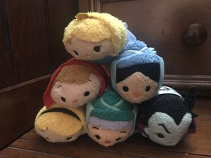 $25 for all! Tsum Tsum the sleeping beauty for Sale in Santa Ana, CA