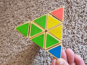 Tetrahedron Rubik cube for Sale in Adelphi, MD