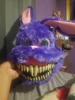 Used, Purple Ravenous Rabbit Ani-motion Mask for Sale for sale  Houston, TX