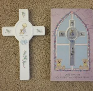 Precious Moments Wall Cross for a Boy for Sale in Burtonsville, MD