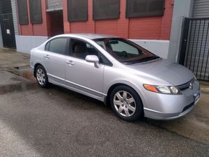 honda civic EX año2009 TRANSMISION ESTANDAR titulo salvage for Sale in Los Angeles, CA
