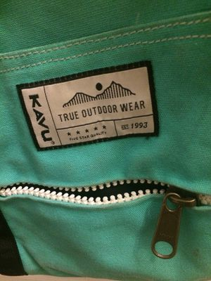Turquoise Kavu tote bag for Sale in Salt Lake City, UT