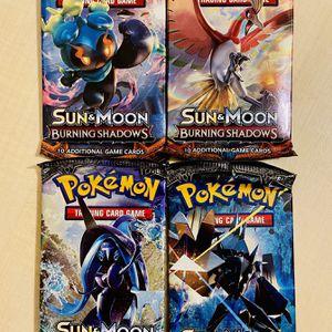 Pokemon Cards: Sun & Moon Burning Shadows for Sale in Irvine, CA