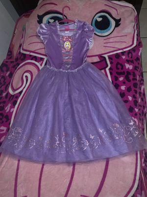 Disney Tangled Princess 👸🏻Costume Dress 6T 😘💕 for Sale in Bloomington, CA
