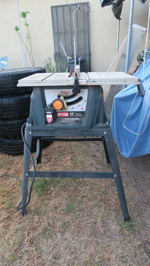 RYOBI 10 in Table Saw with Steel Stand for Sale in Artesia, CA