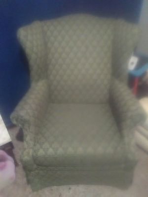 Wingback chair for Sale in East Prairie, MO