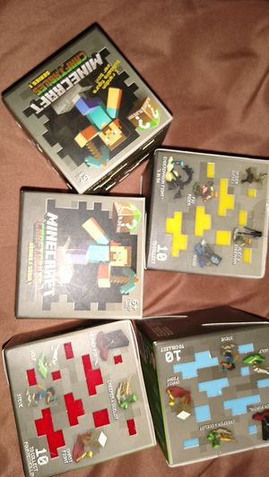 5 New mine craft blind boxes for Sale in Norfolk, VA