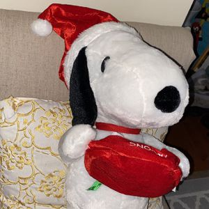 Snoopy Santa Christmas Peanuts Toy Figure 20 Inches Tall for Sale in Stafford, VA