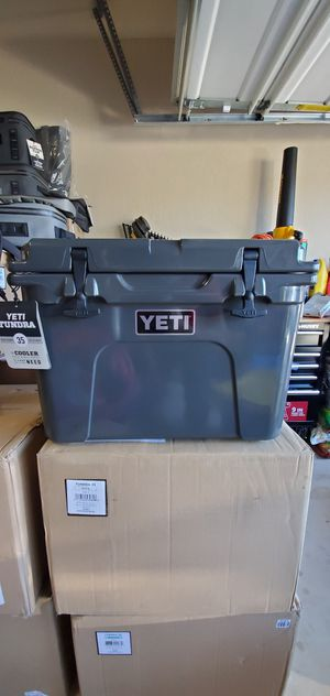 New In box. Yeti tundra 35 charcoal, seafoam or white for Sale in Brownsville, TX