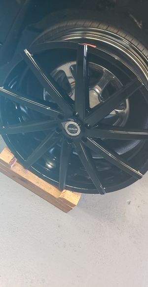26x10 Black Gloss Strada Wheels(Rims Only) Used only a month for Sale in Los Angeles, CA