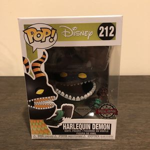 Funko Pop Exclusive Harlequin Demon #212 for Sale in Levittown, NY