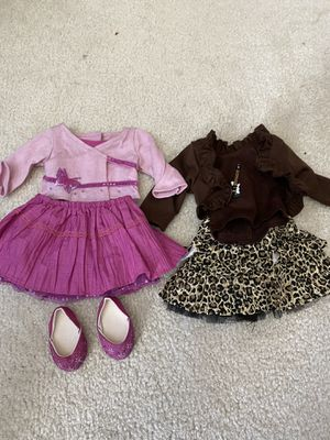 TWO American Girl Doll SKIRT OUTFITS! *Willing to sell separately* for Sale in Mission Viejo, CA