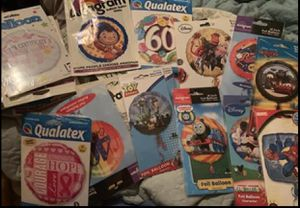 Lot of 100 Birthday Party Balloons Holidays Resale for Sale in Huddleston, VA