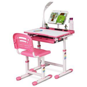 Adjustable Kids Desk Chair Set in Pink Ideal Learning Partner for Sale in Henderson, NV