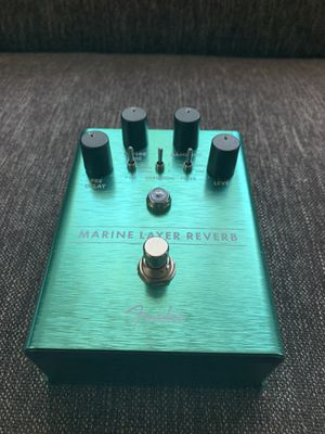 Marine layer reverb, Fender, Guitar pedal for Sale in Pasadena, CA