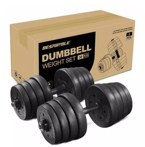 Adjustable Dumbbells Weight Set Up to 64 Pounds for Sale in Miami Beach, FL