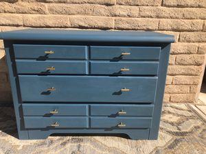 Blue Denim Dresser for Sale in Paradise Valley, AZ