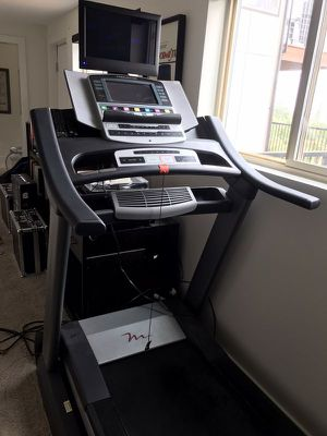 Treadmill, Freemotion 790 with built in touchscreen, TV and Roku box for Sale in Seattle, WA