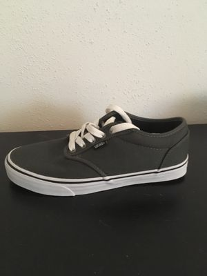 Grey vans size 9 for Sale in Madison, WI