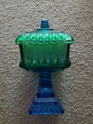 Blue green glass collectible for Sale in Portland, OR