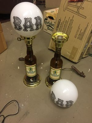 Antique bottle lamps for Sale in Blacklick, OH