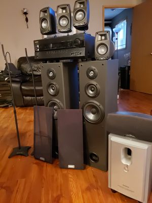 Full 7.2 surround system for Sale in Vancouver, WA
