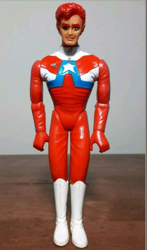Team America Vintage Action Figure 80s toy motorcycle rider for Sale in Marietta, GA