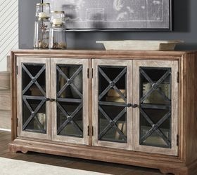 Ellisburg Antique Brown Accent Cabinet by Ashley💐New for Sale in Riverdale Park,  MD