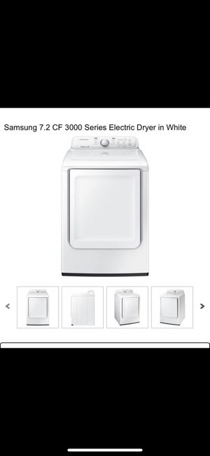 Samsung washer and dryer...only had it for 6 months selling because I got an upgrade for Sale in Montgomery, AL