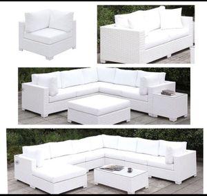 White Patio set , creativity encourage * for Sale in Fresno, CA