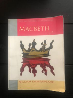 Macbeth by William Shakespeare for Sale in Miami Shores, FL
