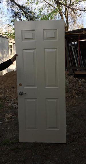 """FIBERGLASS BACK DOOR 32""""x80"""" for Sale in Humble, TX"""