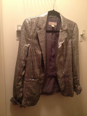 Michael Kors sequined blazer size 8 for Sale in Chicago, IL