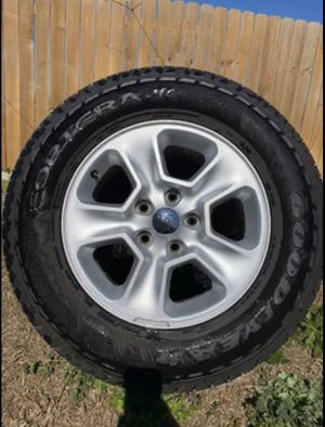 Jeep tires 245/70/17 for Sale in Round Rock, TX