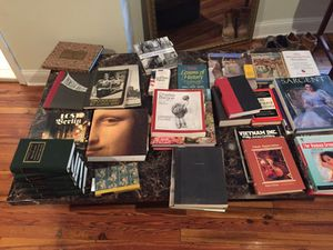 Old and new books, some antiques for Sale in Baltimore, MD