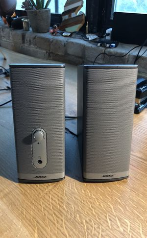 Bose computer speakers - missing power cord - can buy cord on amazon for Sale in Detroit, MI