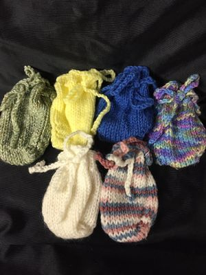 Gift/Trinkets bag knitted lot of 6 for Sale in Horn Lake, MS