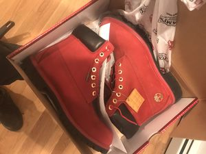 Red timberland limited champ edition for Sale in Carteret, NJ