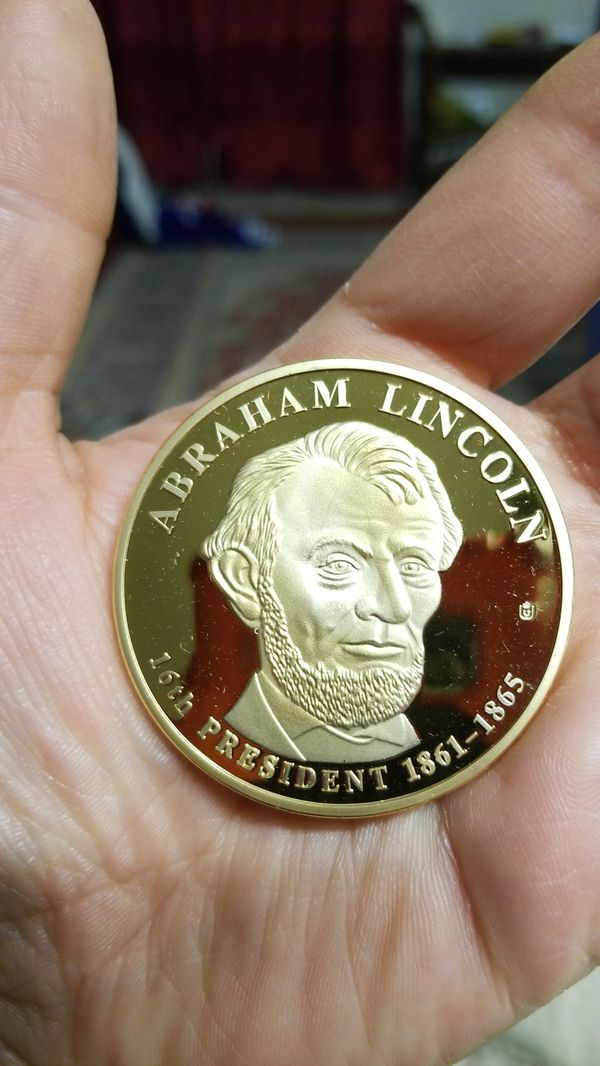 ABRAHAM LINCOLN TRIAL GOLD DOLLAR