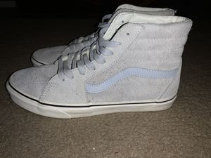 Vans Sk8 Hi Gray Dawn High Top Shoes *LIKE NEW* Size 11 for Sale in HILLTOP MALL, CA