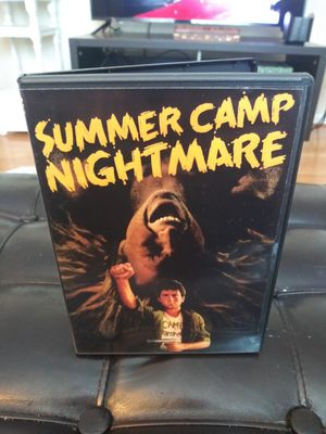 Summer Camp Nightmare Dvd RARE! for Sale in Gaithersburg, MD
